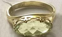 № 828, Гелиодор кольцо