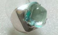 № 437,Аквамарин кольцо