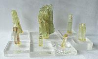 № 405, Кристаллы гелиодора