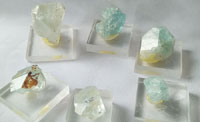 № 408, Кристаллы топаза
