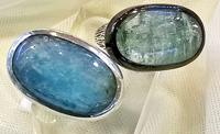 № 863, Аквамарин кольцо
