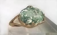 № 356, Аквамарин кольцо