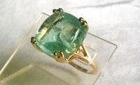 № 759, Аквамарин кольцо